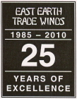 East Earth Trade Winds 25 Years