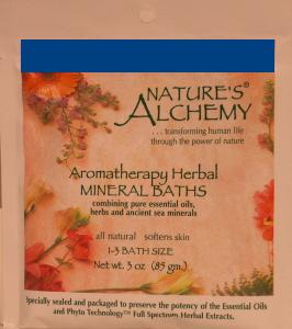 Nature's Alchemy mineral bath from East Earth Trade Winds